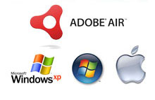 Adobe Air, Windows, MAC OSX